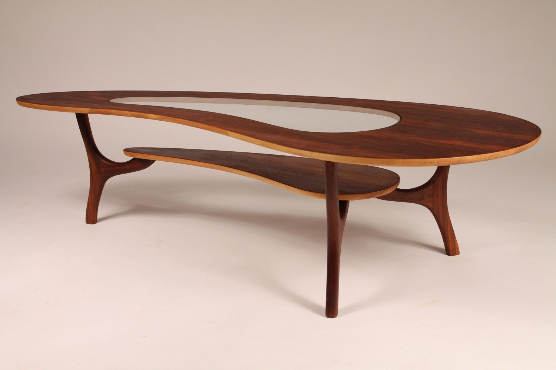 Park Art|My WordPress Blog_Kidney Shaped Coffee Table Glass