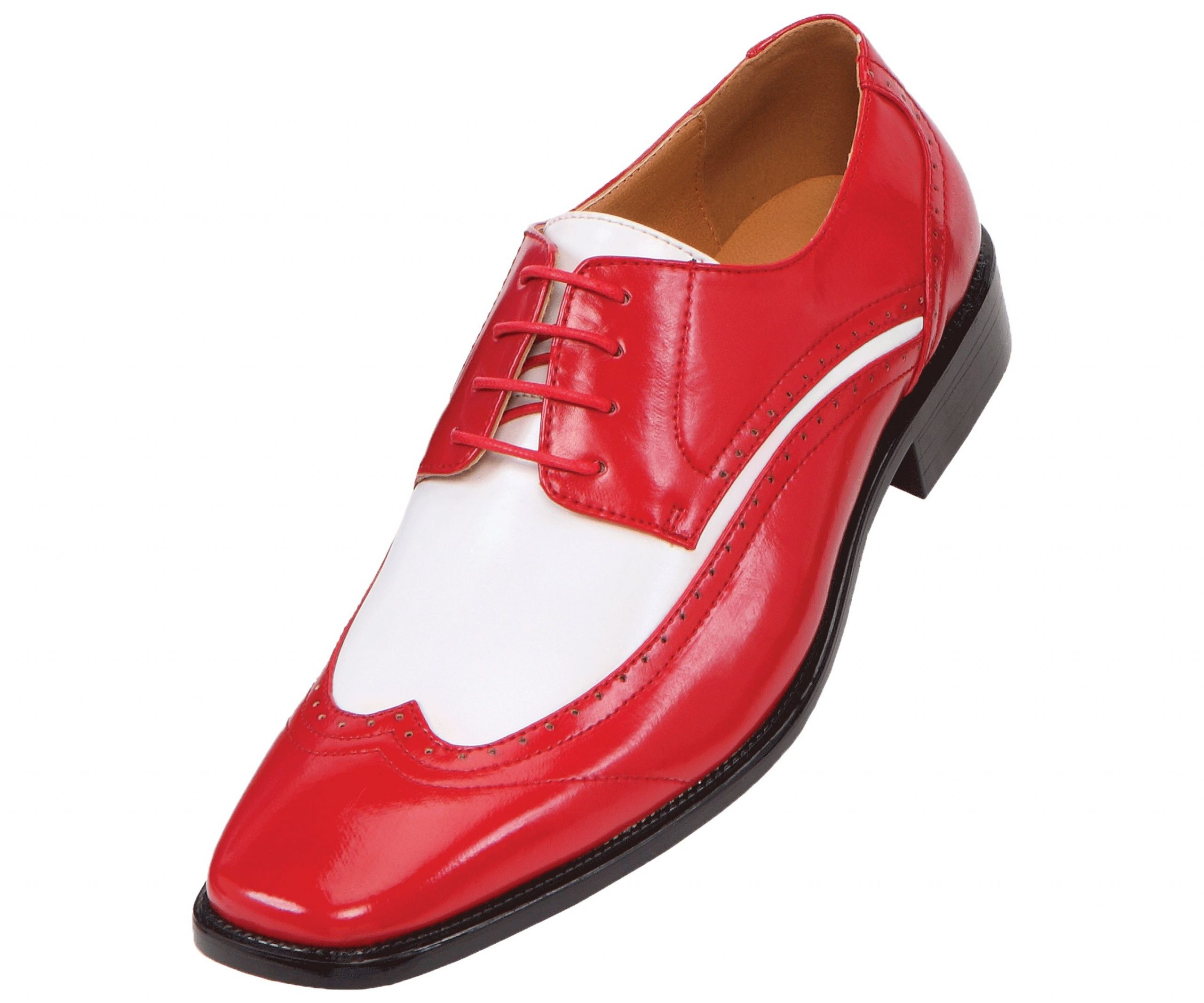 Park Art|My WordPress Blog_Red And White Dress Shoes