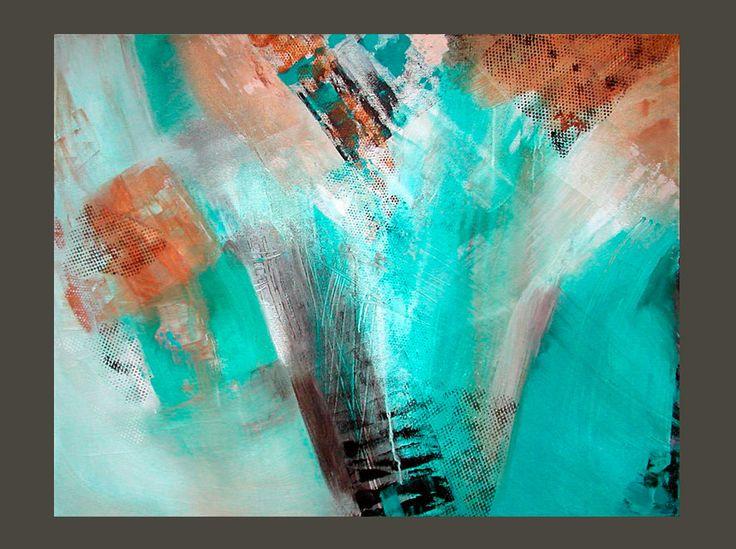 Park Art|My WordPress Blog_Teal Abstract Art Prints Etsy