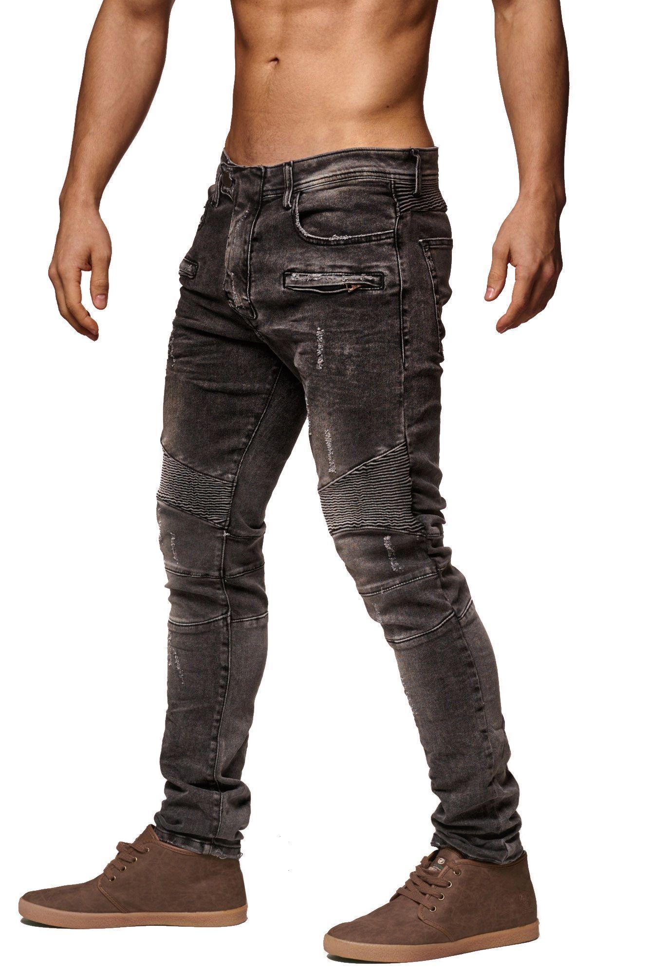 Park Art|My WordPress Blog_Mens Slim Fit Distressed White Jeans