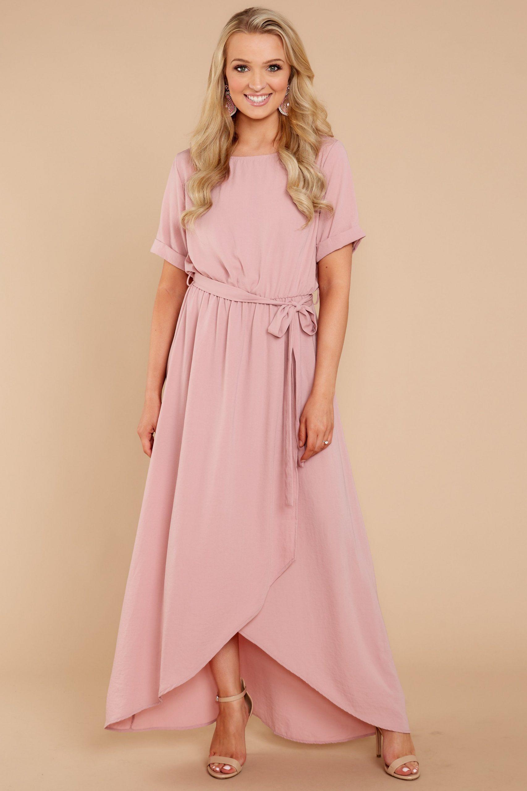 Park Art|My WordPress Blog_Light Pink Maxi Dress Casual