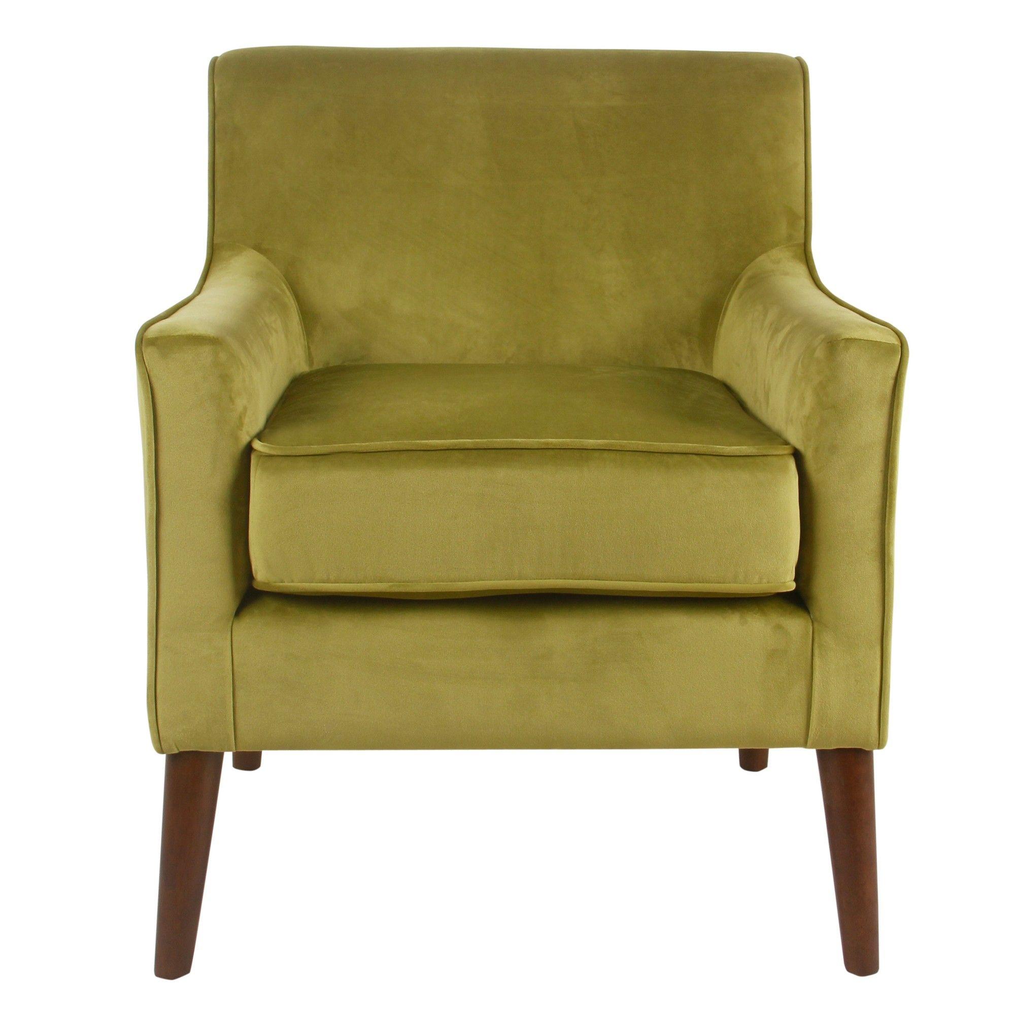 Park Art My WordPress Blog_Green Velvet Accent Chair With Ottoman