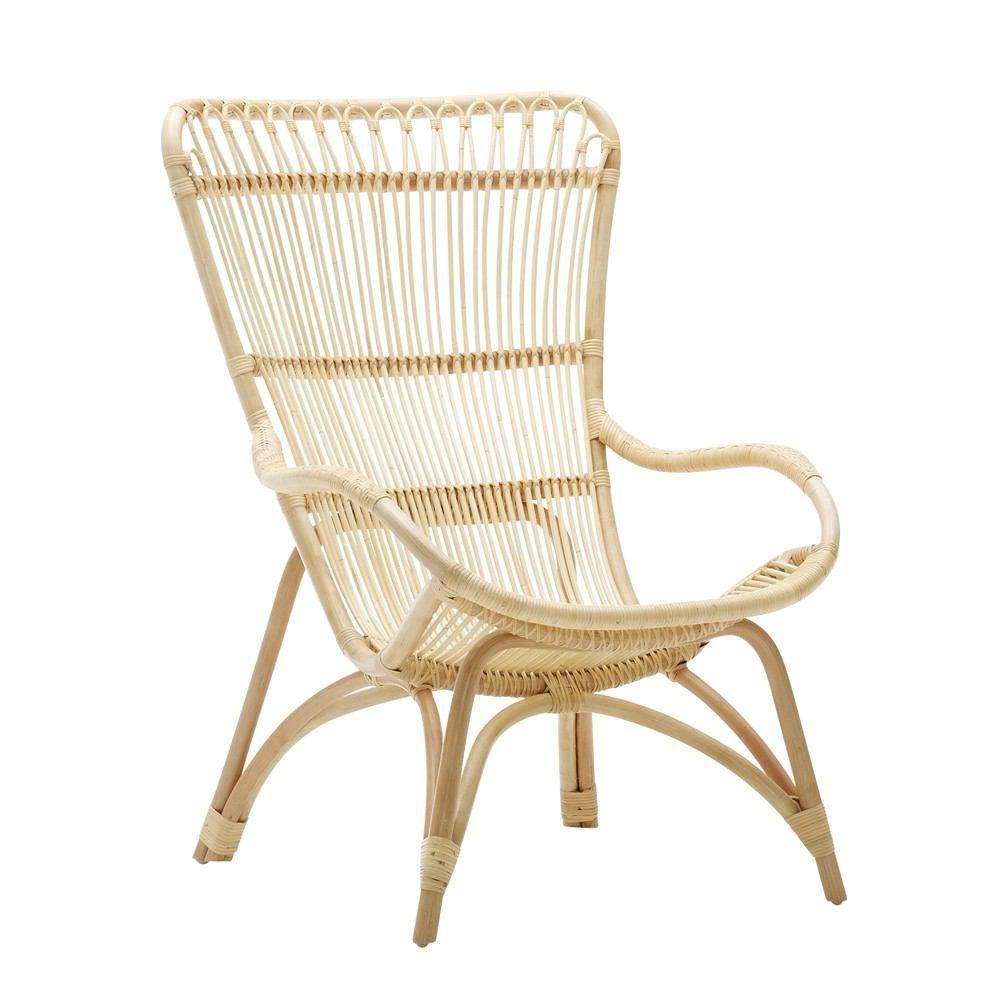 Park Art|My WordPress Blog_High Back Wicker Chair With Ottoman