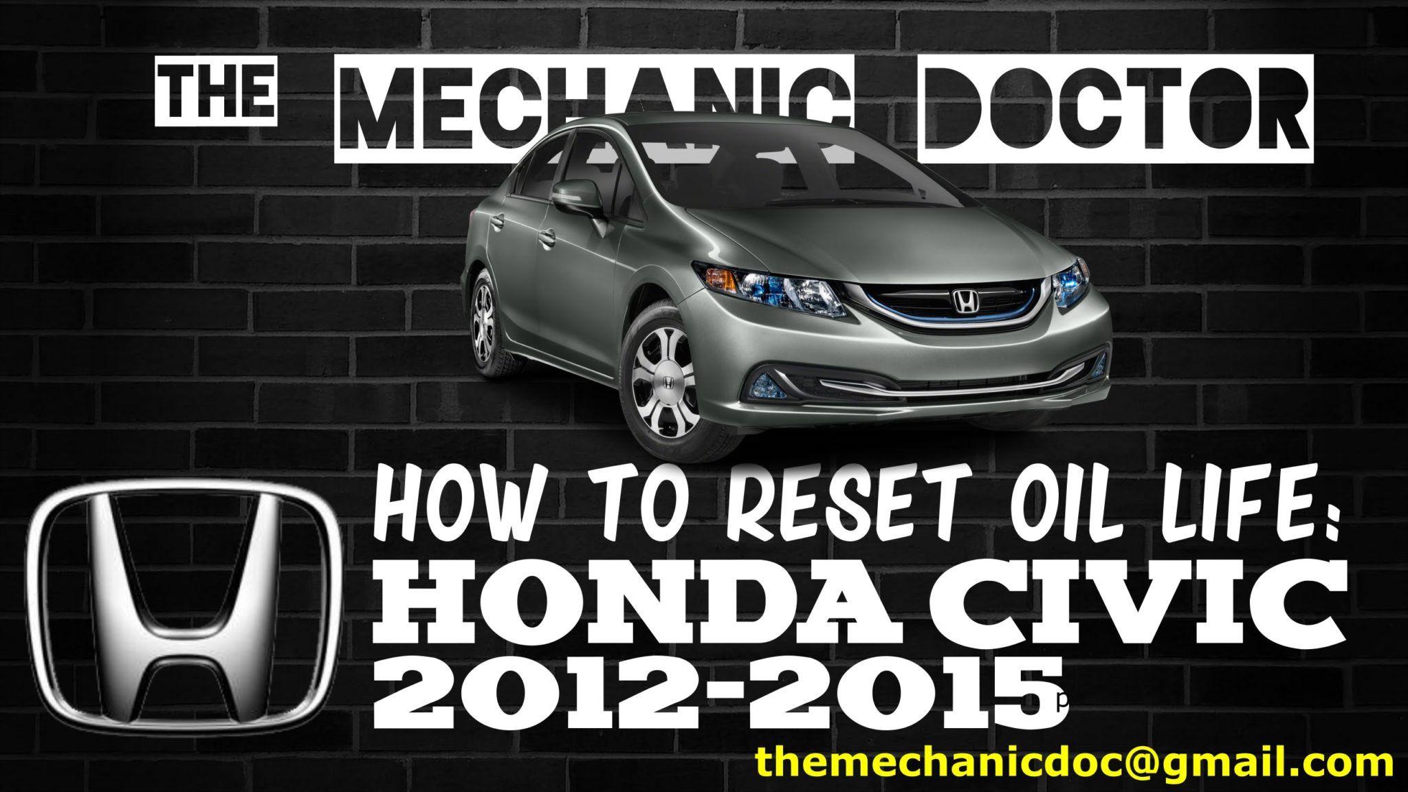 Park Art My WordPress Blog_How To Reset Oil Life On Honda Civic 2010