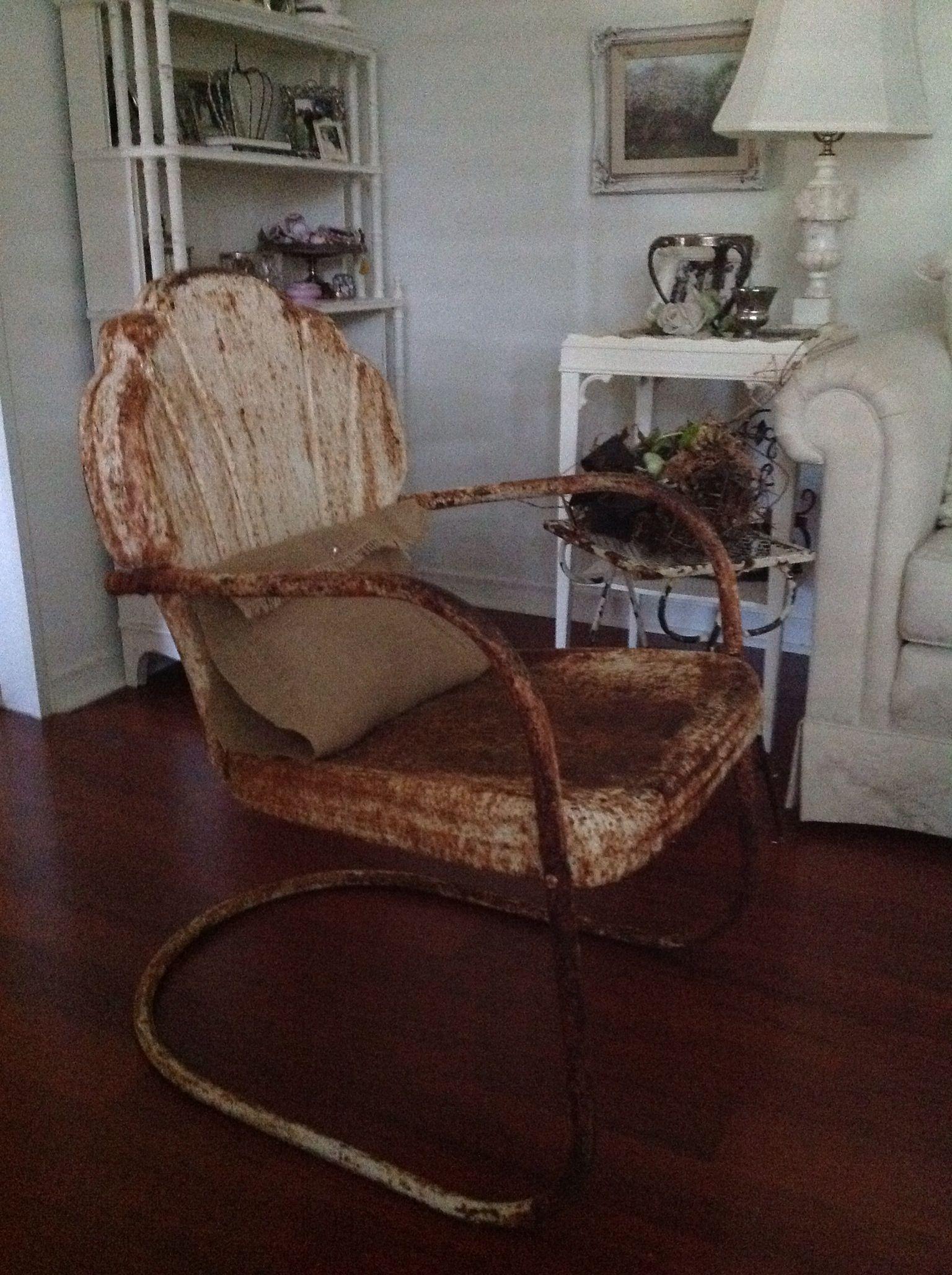 Park Art|My WordPress Blog_Rust Accent Chair With Ottoman