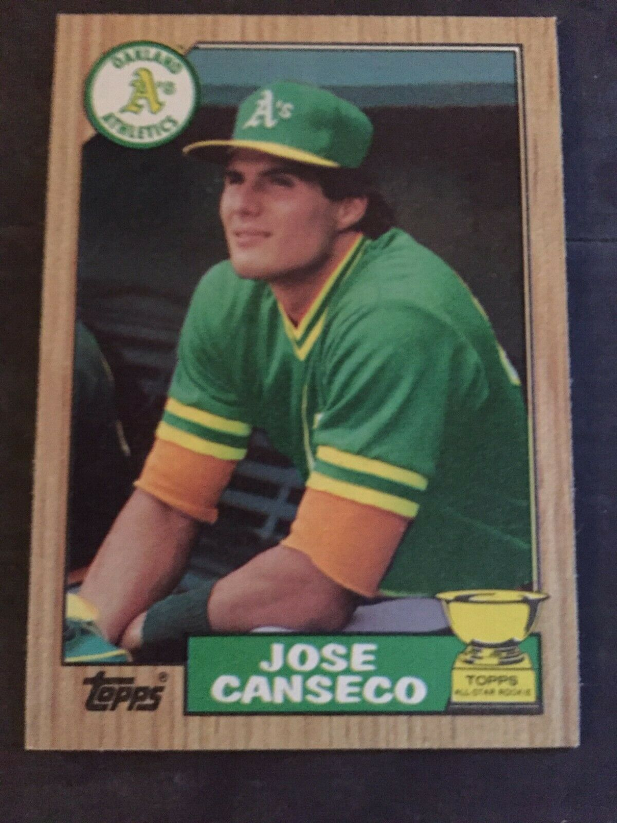 Park Art|My WordPress Blog_Jose Canseco Rookie Card Topps 620