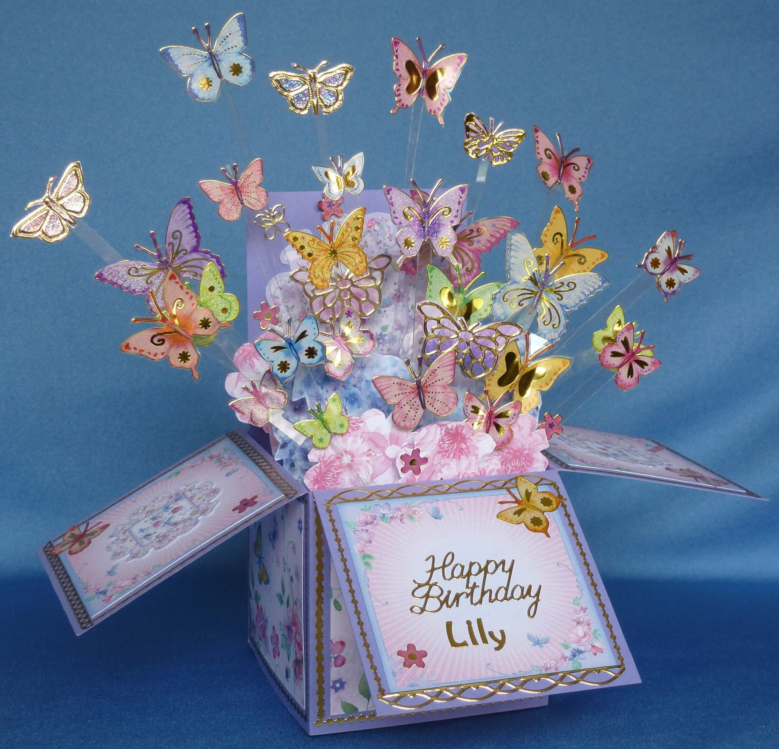 Park Art|My WordPress Blog_Pop Up Gift Box With Butterfly