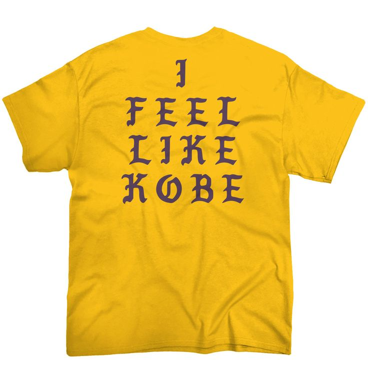 Park Art My WordPress Blog_I Feel Like Kobe Shirt Stockx