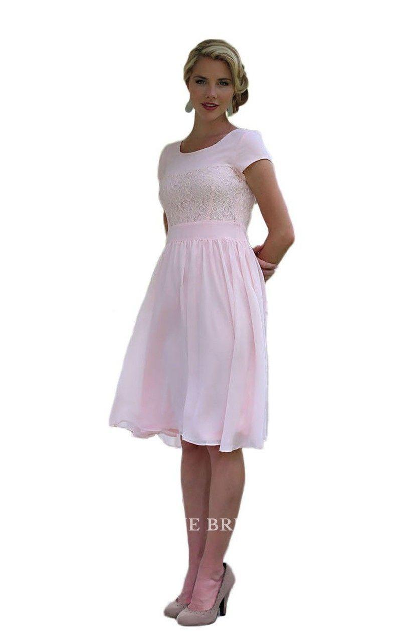 Park Art|My WordPress Blog_White Knee Length Dress With Short Sleeves