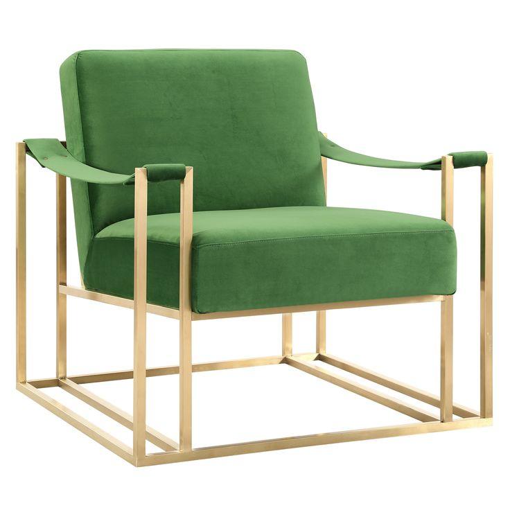 Park Art|My WordPress Blog_Green Velvet Accent Chair Canada