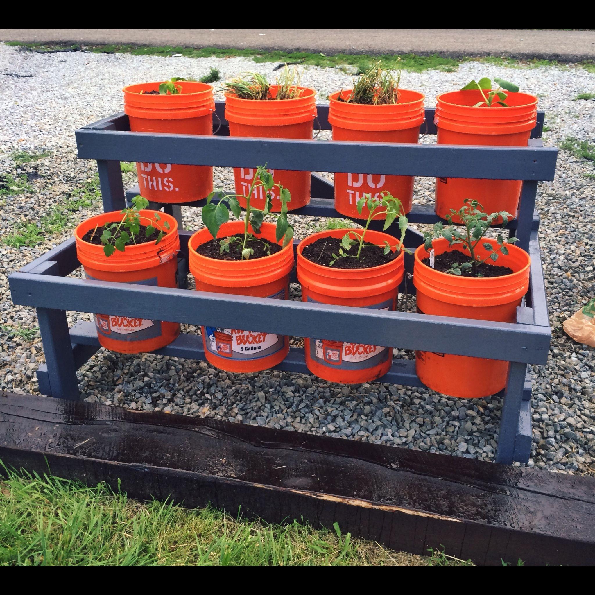 Park Art My WordPress Blog_5 Gallon Container Garden Stand