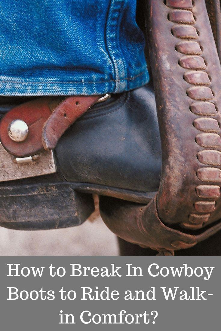 Park Art My WordPress Blog_How To Break In Cowboy Work Boots