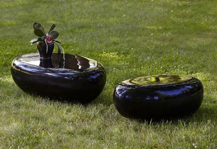 Park Art|My WordPress Blog_River Stone Coffee Table Black