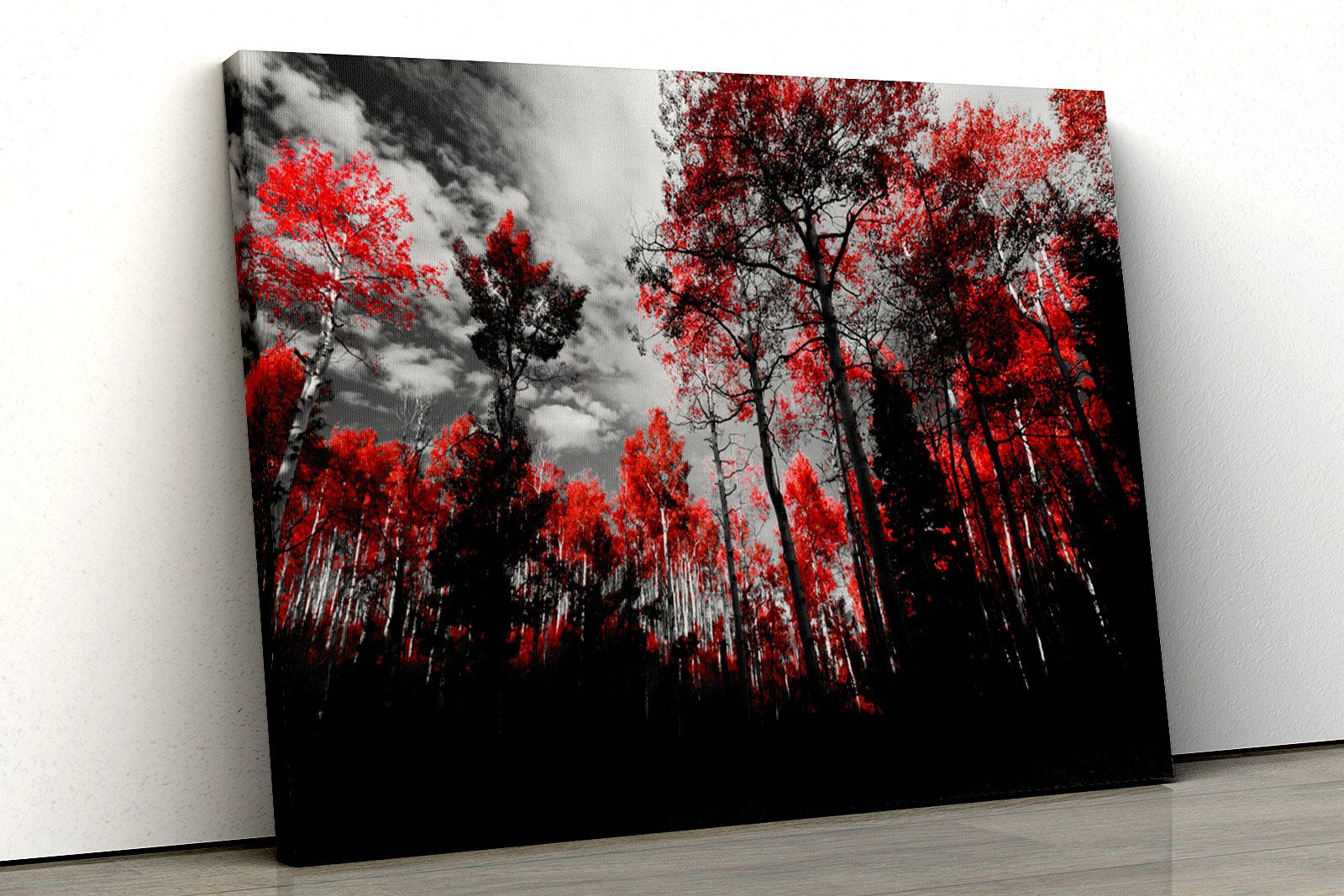 Park Art|My WordPress Blog_Red And Black Wall Art Canvas