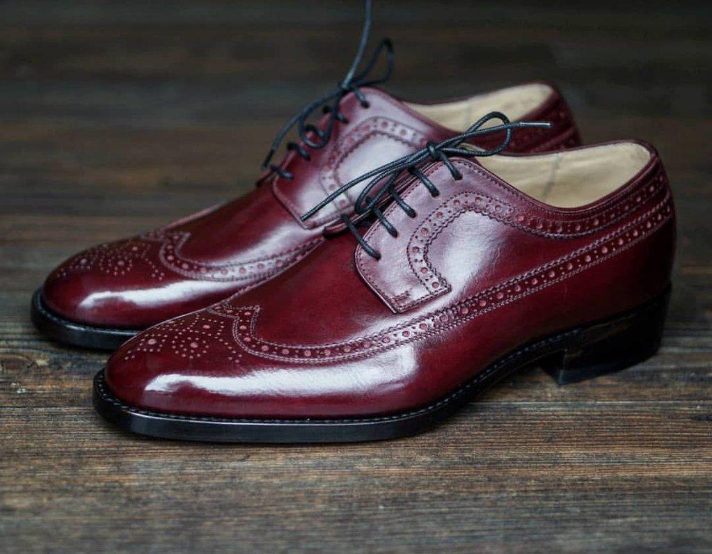 Park Art|My WordPress Blog_Mens Burgundy Dress Shoes Leather