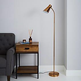 Park Art My WordPress Blog_Rose Gold Floor Lamp Dunelm